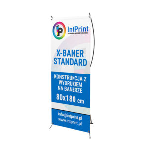 Supports publicitaires X-banner 80×180